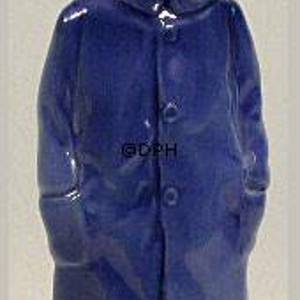Boy with Raincoat, Bing & grondahl figurine no. 2532