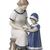 Else with her mother, Royal Copenhagen figurine