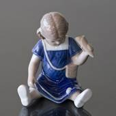 Else eats icecream, Royal Copenhagen figurine