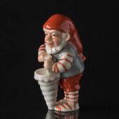 Pixie with Cornet, Royal Copenhagen Christmas figurine