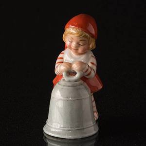 Pixie with Bell, Royal Copenhagen Christmas figurine