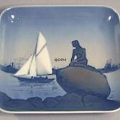 Tray with The Little Mermaid, Bing & grondahl no. 1300-6531