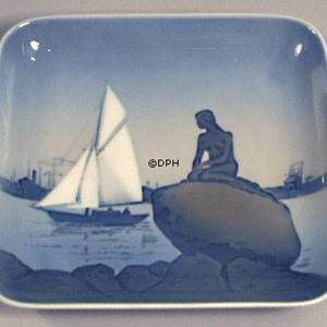 Tray with The Little Mermaid, Bing & grondahl no. 1300-6531 | No. 1024322 | DPH Trading