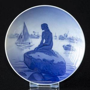 Bowl with The Little Mermaid, Royal Copenhagen No. 4356 | No. 1024377 | Alt. r | DPH Trading