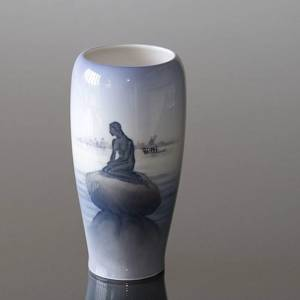 Vase with The Little Mermaid, Royal Copenhagen | No. 1024381 | Alt. R4463 | DPH Trading
