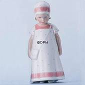 Else Girl with white Dress with light red border, Bing & Grondahl figu...