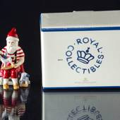 2019 The Annual Santa figurine, Santa with toys Royal Copenhagen