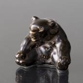 Bear, Royal Copenhagen stoneware figurine