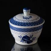 Royal Copenhagen/Aluminia  Tranquebar, blue, sugar bowl