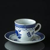 Royal Copenhagen/Aluminia  Tranquebar, blue, large coffee cup