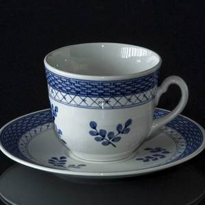 Royal Copenhagen/Aluminia Tranquebar, blue, large Morning Cup | No. 11-991 | DPH Trading