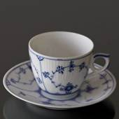 Blue Fluted, Plain, Coffee cup, capacity 16 cl., Royal Copenhagen