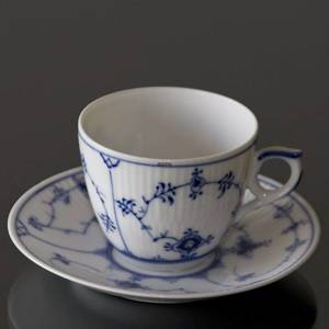 Blue Fluted, Plain, Coffee cup, capacity 16 cl., Royal Copenhagen | No. 1101071 | Alt. 1-2162 | DPH Trading