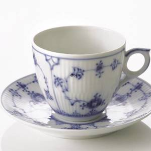 Blue Fluted, Plain, large Tea cup, capacity 20 cl., Royal Copenhagen