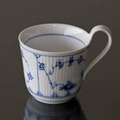 Blue Fluted, Plain, mug with high handle, capacity 33 cl., Royal Copenhagen