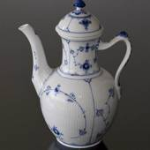 Blue Fluted, Plain, Coffee Pot, Royal Copenhagen