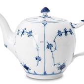 Blue Fluted, Plain, Tea Pot, capacity 35 cl., Royal Copenhagen