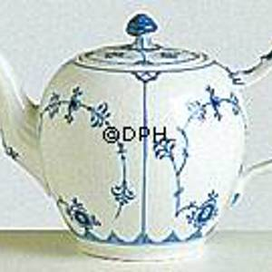 Blue Fluted, Plain, Tea Pot, capacity 70 cl., Royal Copenhagen