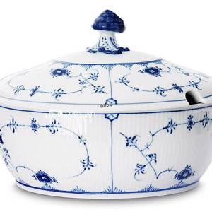 Blue Fluted, Plain, Soup tureen with Cover, capacity 200 cl., Royal Copenhagen | No. 1101181 | Alt. 1-214 | DPH Trading