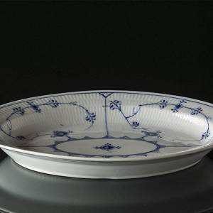Blue Fluted, Plain, Serving Dish, Royal Copenhagen 34cm
