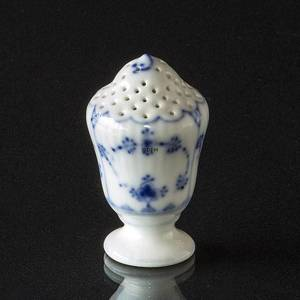 Blue Fluted, Plain, Saltshaker, Royal Copenhagen