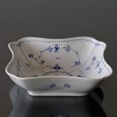 Blue Fluted, Plain, Square Salad bowl, capacity 80 cl., Royal Copenhagen 22...