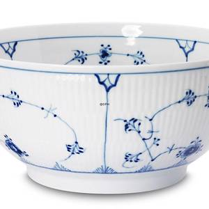 Blue Fluted, Plain, large Salad bowl, capacity 140 cl., Royal Copenhagen 24...