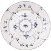 Blue Fluted, Plain, Plate, Royal Copenhagen 25cm