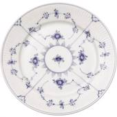 Blue Fluted, Plain, Plate, Royal Copenhagen 27cm