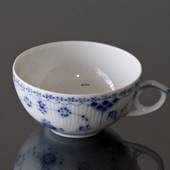 Blue Fluted, Half Lace, Tea Cup WITHOUT SAUCER, capacity 20 cl., Royal Cope...