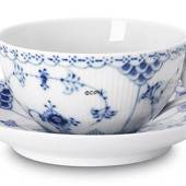 Blue Fluted, Half Lace, Bredkfast cup, Royal Copenhagen