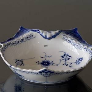 Blue Fluted , half lace, pickle dish | No. 1102347 | Alt. 1-557 | DPH Trading