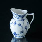 Blue Fluted, Half Lace, large Creme Jug, capacity 17 cl., Royal Copenhagen