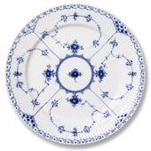Blue Fluted, Half Lace, plate, Royal Copenhagen 27cm
