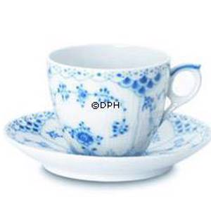 Blue Fluted, Full Lace, Espresso, Royal Copenhagen | No. 1103053 | Alt. 1-1038 | DPH Trading