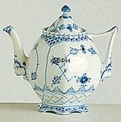 Blue Fluted, Full Lace, Tea Pot, Royal Copenhagen