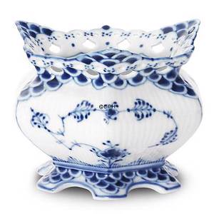 Blue Fluted, Full Lace, Sugar Bowls, capacity 14 cl., Royal Copenhagen | No. 1103153 | Alt. 1-1229 | DPH Trading