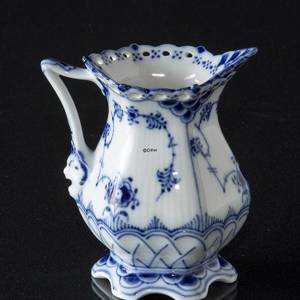Blue Fluted, Full Lace, Cream jug | No. 1103394 | Alt. 1-1032 | DPH Trading