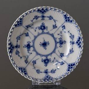 Blue Fluted, Full Lace, Plate, 15cm, Royal Copenhagen