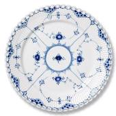 Blue Fluted, Full Lace, Plate, Royal Copenhagen 17cm