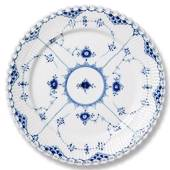 Blue Fluted, Full Lace, Plate, Royal Copenhagen 27cm