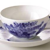 Blue Flower, Curved, Tea Cup, capacity 21 cl., Royal Copenhagen