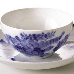 Blue Flower, Curved, Tea Cup, capacity 21 cl., Royal Copenhagen | No. 1106080 | DPH Trading