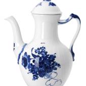 Blue Flower, Curved, Coffee Pot, Royal Copenhagen