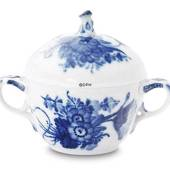 Blue Flower, Curved, Sugar Bowl, Royal Copenhagen