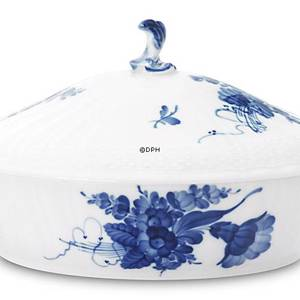 Blue Flower, Curved, Dish with Cover, Royal Copenhagen | No. 1106172 | Alt. 10-1702 | DPH Trading