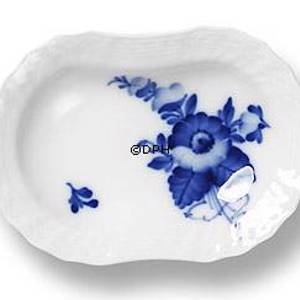 Blue Flover, Curved, Oval individual Ashtray, Royal Copenhagen 10cm | No. 1106333 | Alt. 10-1802 | DPH Trading