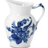 Blue Flower, Curved, Cream Jug