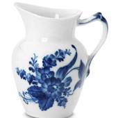 Blue Flower, Curved, Cream Jug, capacity 16 cl., Royal Copenhagen