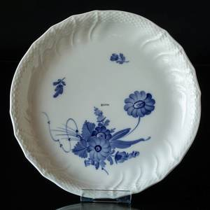 BLUE FLOWER/CURVED DISH